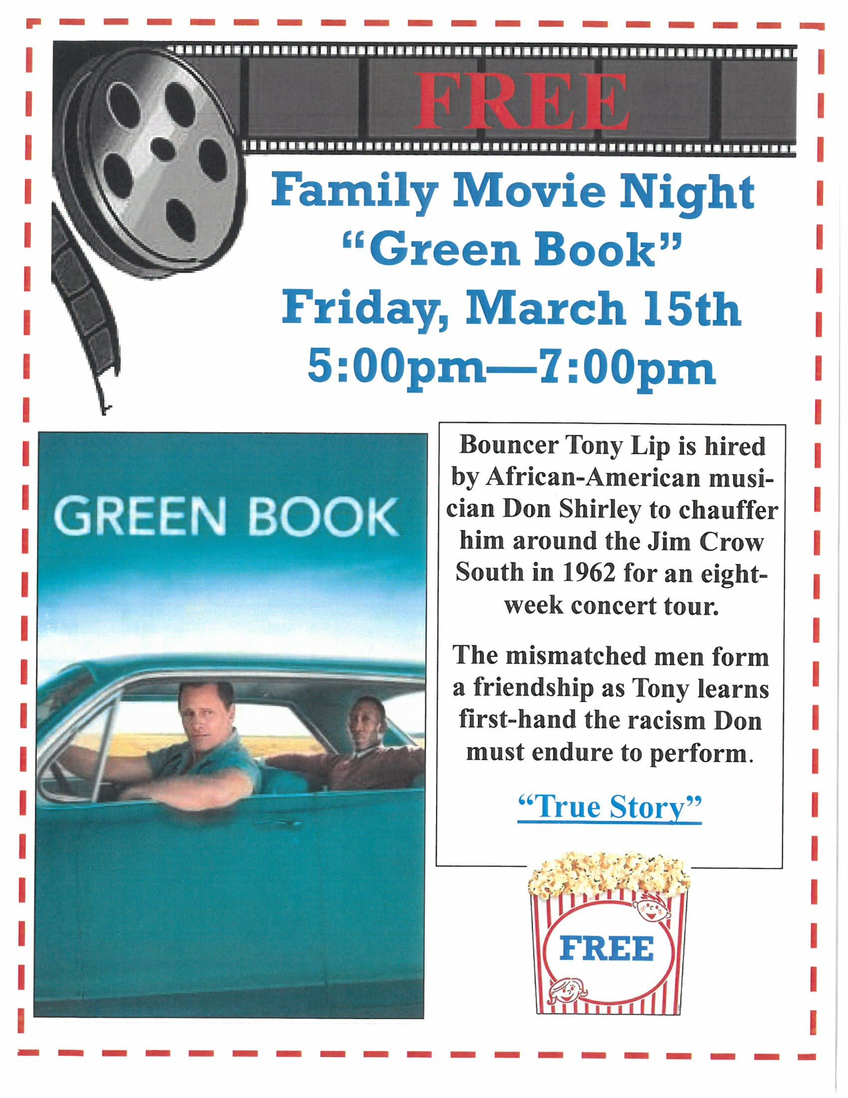 Family Movie Night Green Book