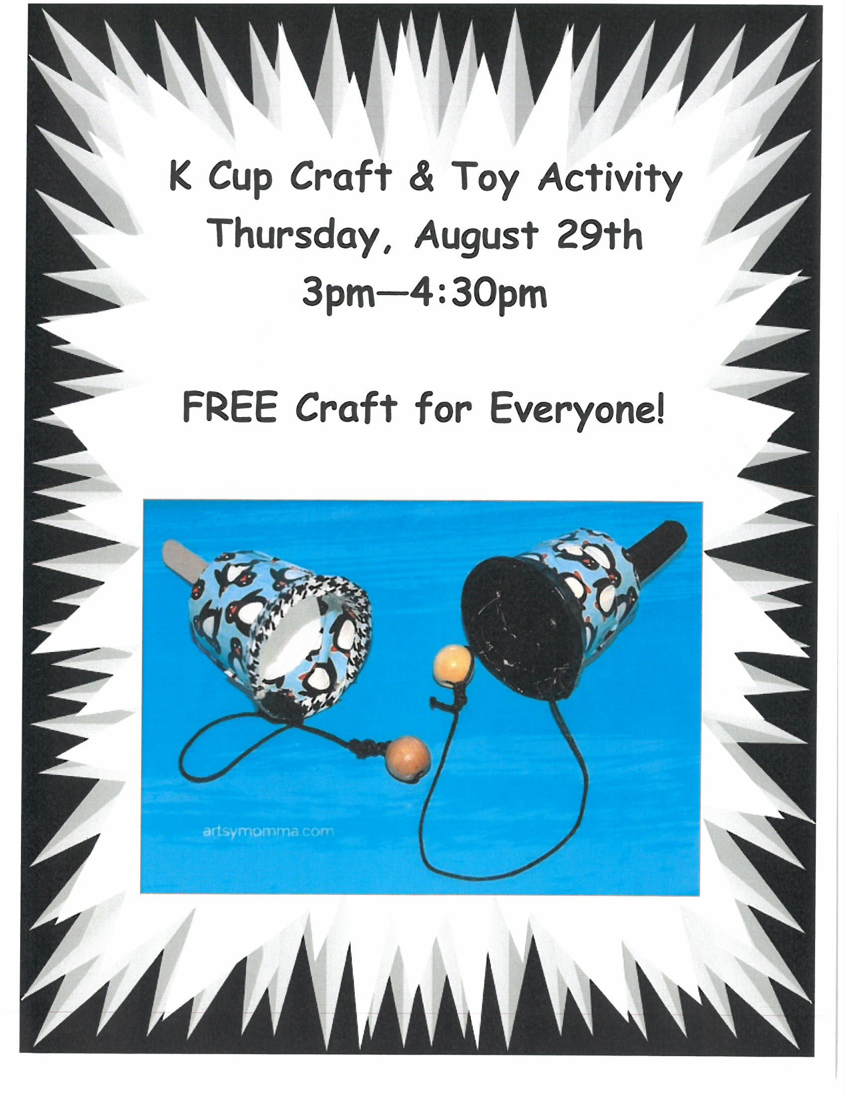 K Cup Craft and Toy
