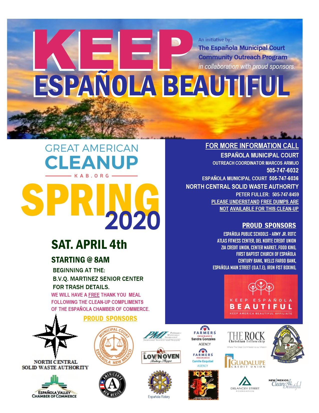 SPRING CLEAN UP FLYER 2020